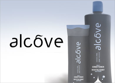 Alcove Hair Care Products offered at Patrick Taleb Salon and Spa